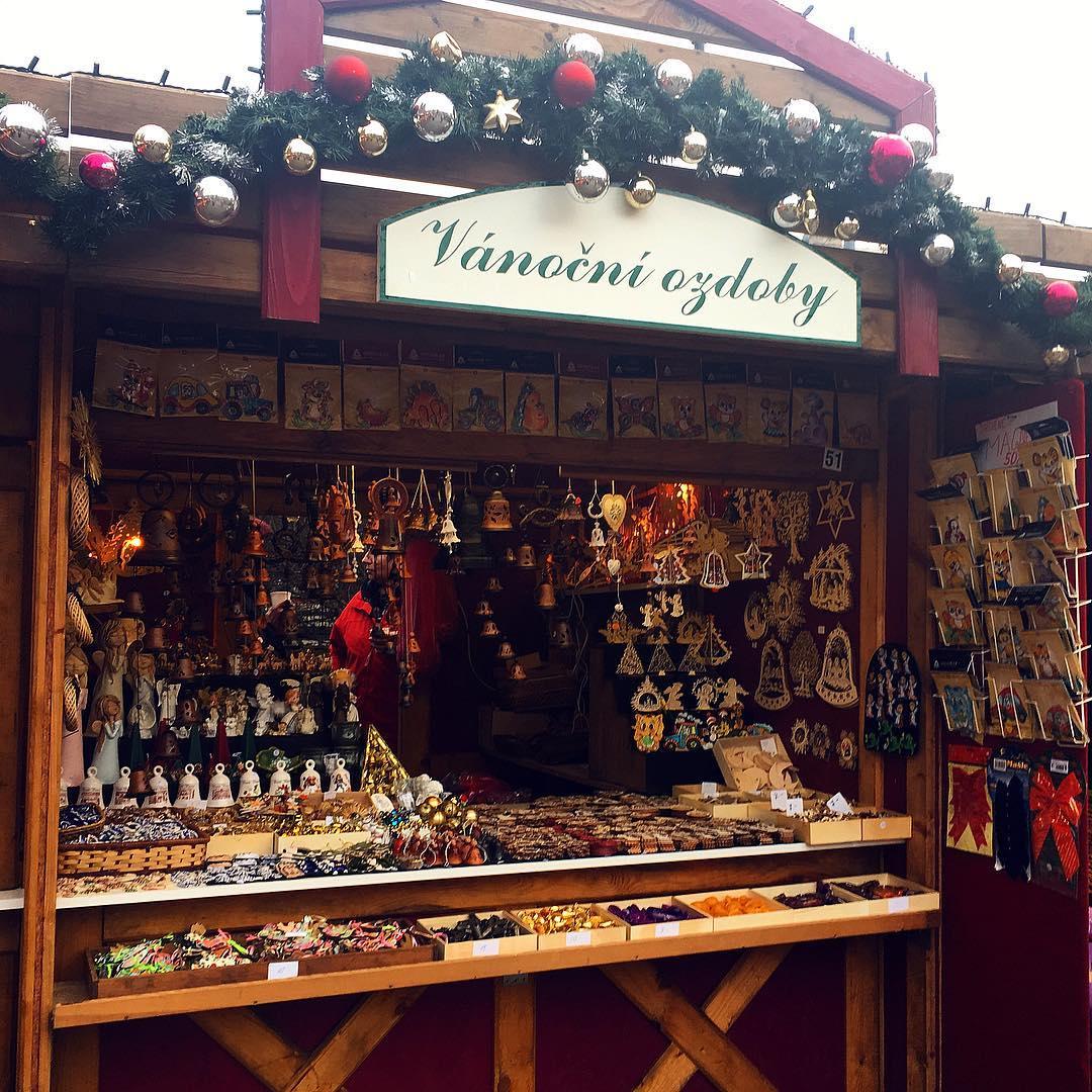 Prague Christmas Markets - Peace Square (Náměstí Míru)