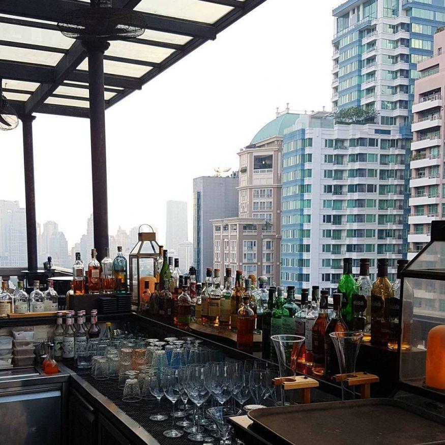 Best Themed Rooftop Bars in Bangkok - The Speakeasy
