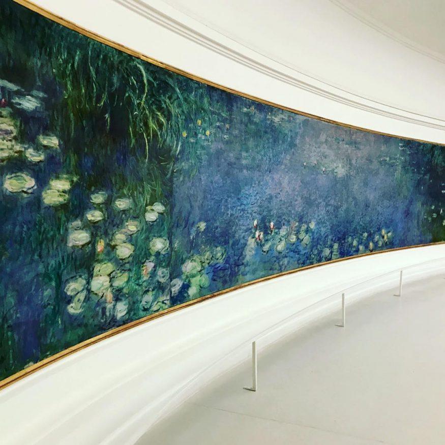 musei di Parigi - Musée de l'Orangerie