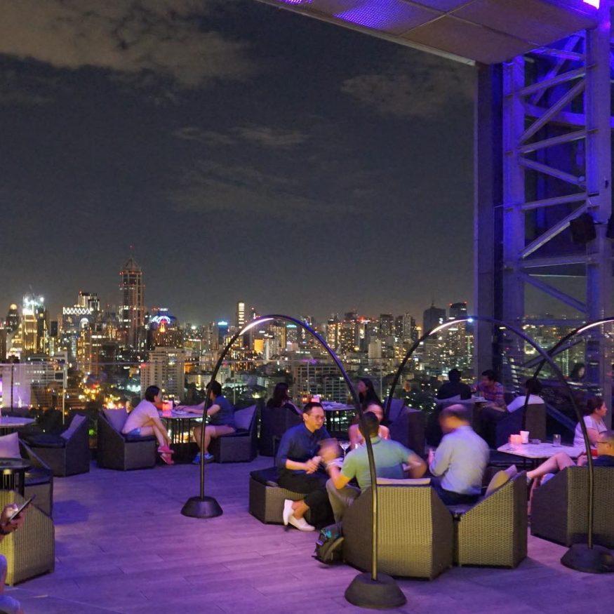 Best Rooftop Bars in Bangkok - Park Society