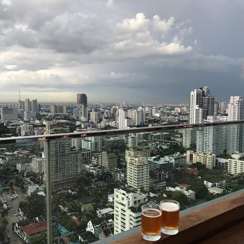 Themed Rooftop Bars in Bangkok - Brewski
