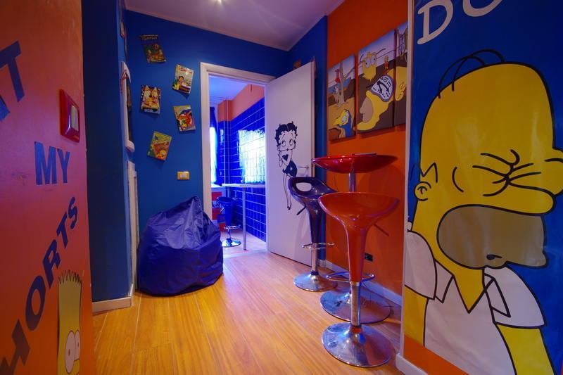 Best Hostels in Rome - Comics Guesthouse
