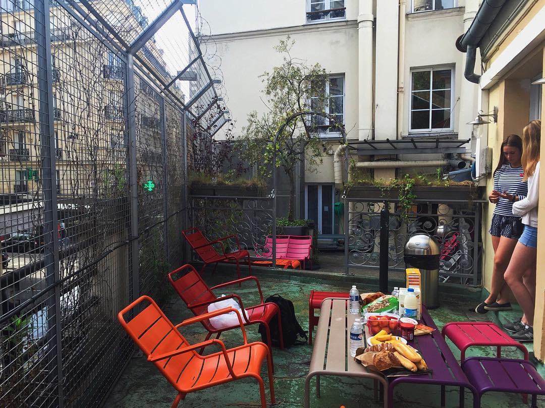 best hostels in Paris - Le Village @sarahlylloff