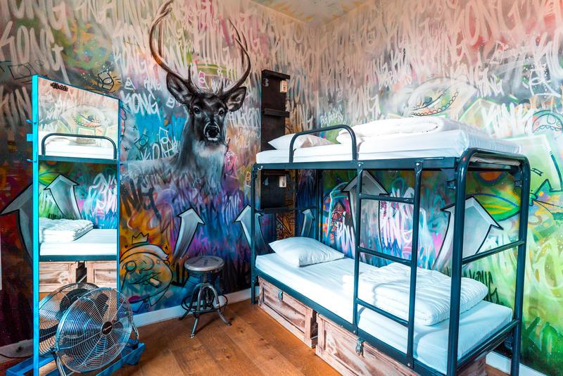King Kong Hostel dorms – Rotherham, Netherlands