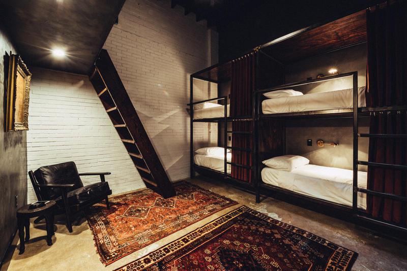 The Native Hostel dorms - austin, USA