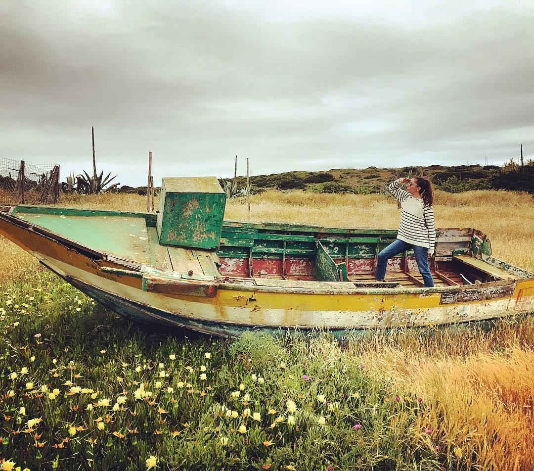 Backpacking Portugal - boat