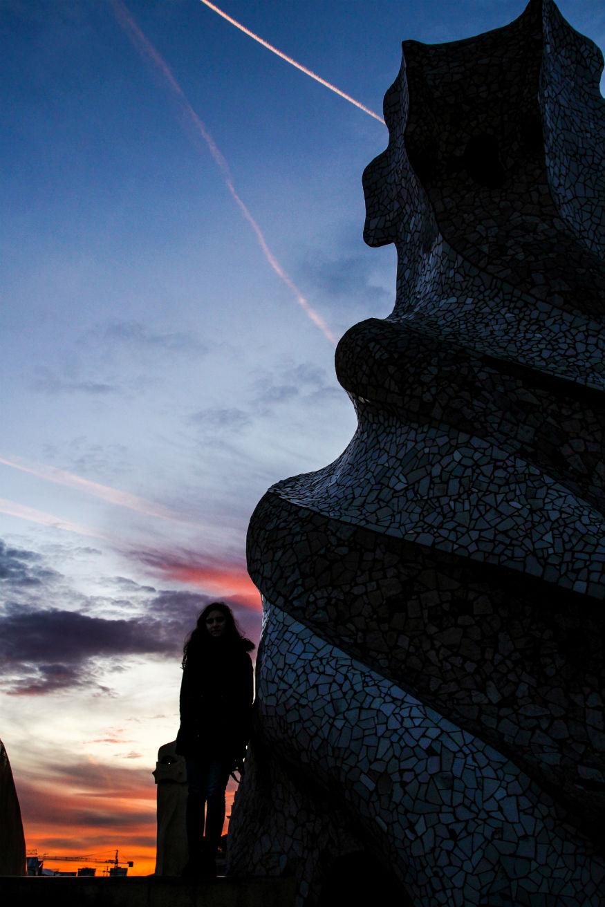 viaggio da sola - scultura