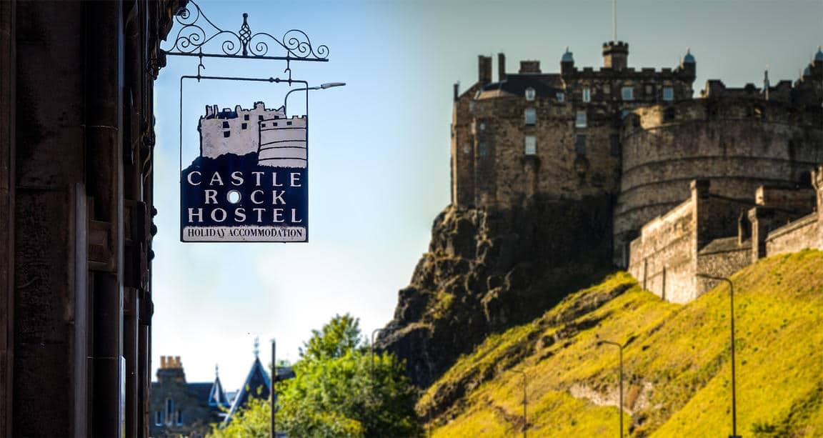 Best Hostels in Scotland- Castle Rock Hostel