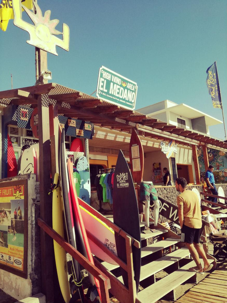 que faire a tenerife - El Médano surf
