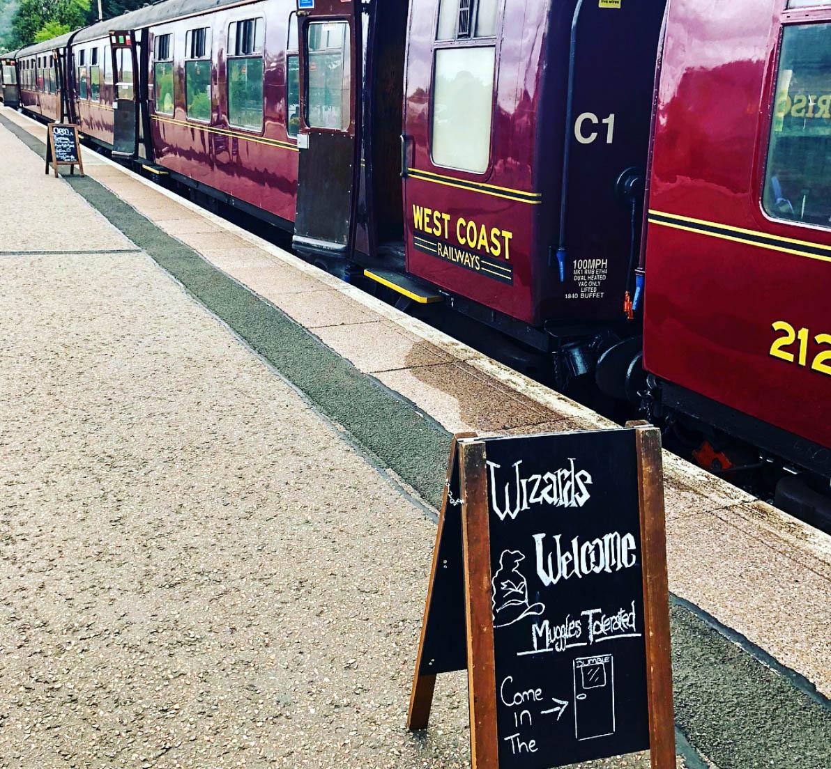 Harry Potter Scotland Jacobite Steam Train Muggles
