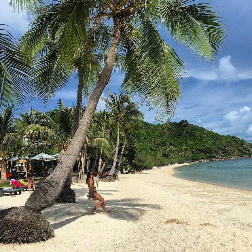 backpacking thailand - Koh Phangan - beach