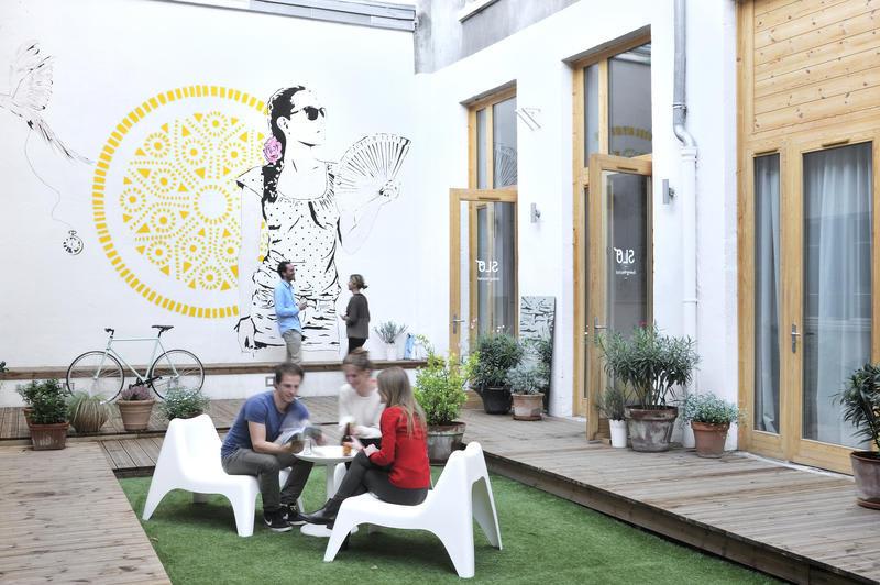 best hostels in france - Slo Living hostel Lyon