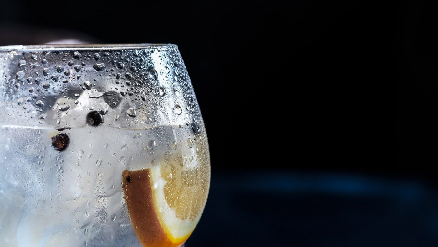 drinks from around the world - England - gin