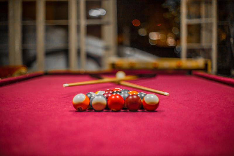 Pool table at The Bellavista Hostel - Best hostels in Santiago