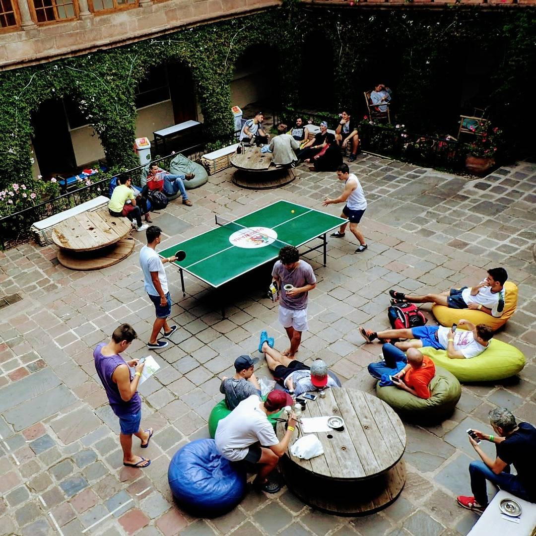 Tips for long term hostel living - table tennis