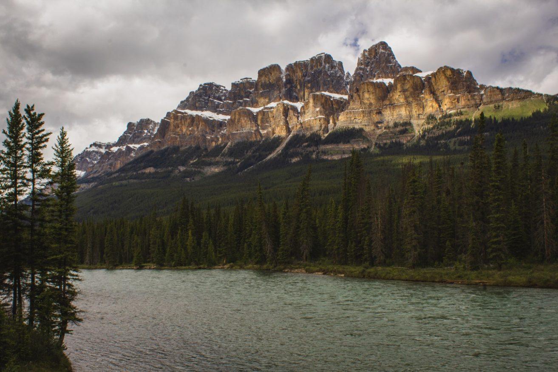 paesaggi di montagna - Castle Mountain, Canada