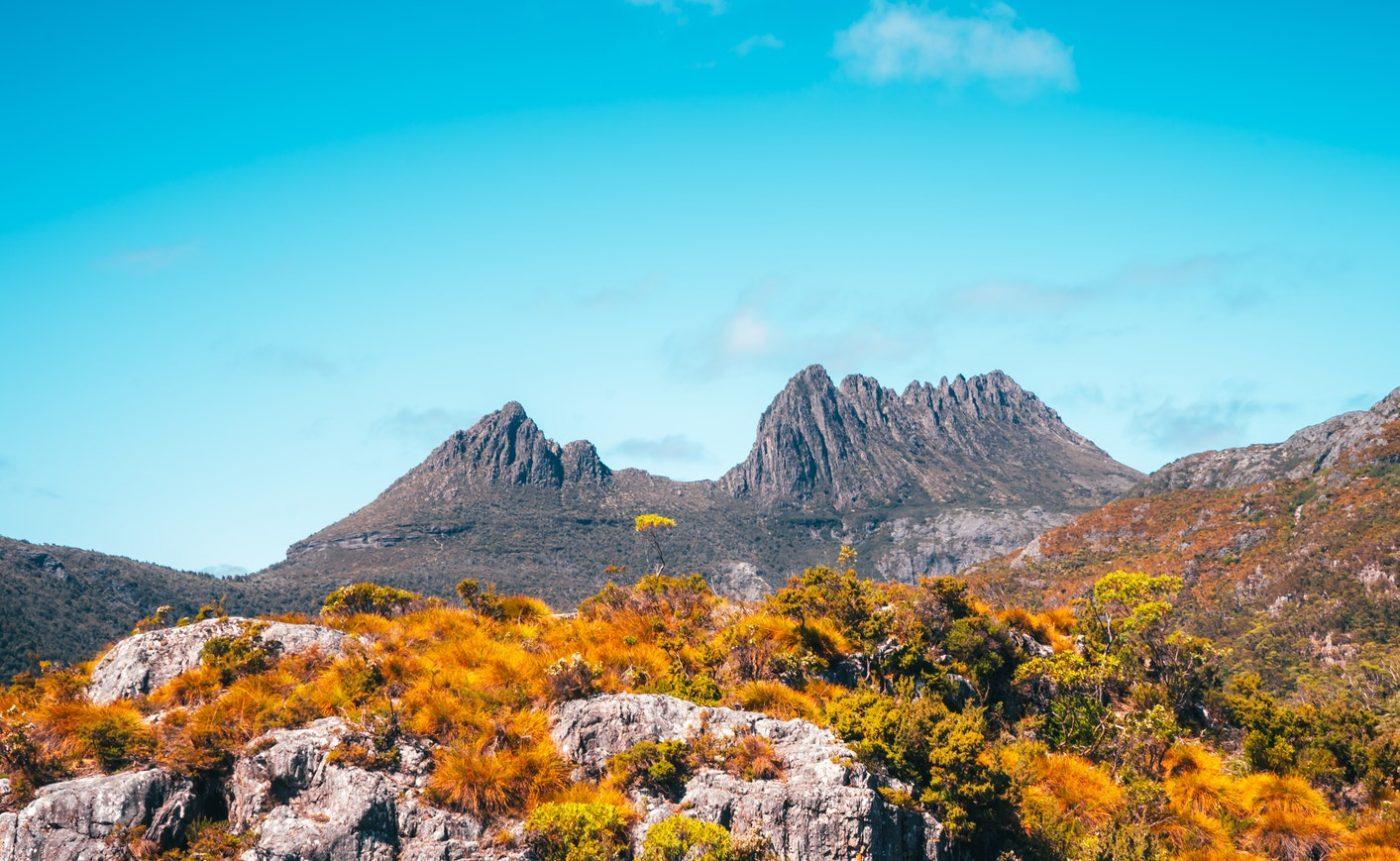 paesaggi di montagna - Cradle Mountain, Tasmania, Australia