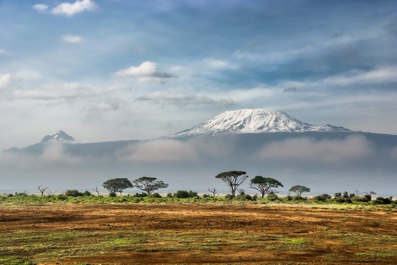 paesaggi di montagna - Kilimanjaro, Tanzania, Africa