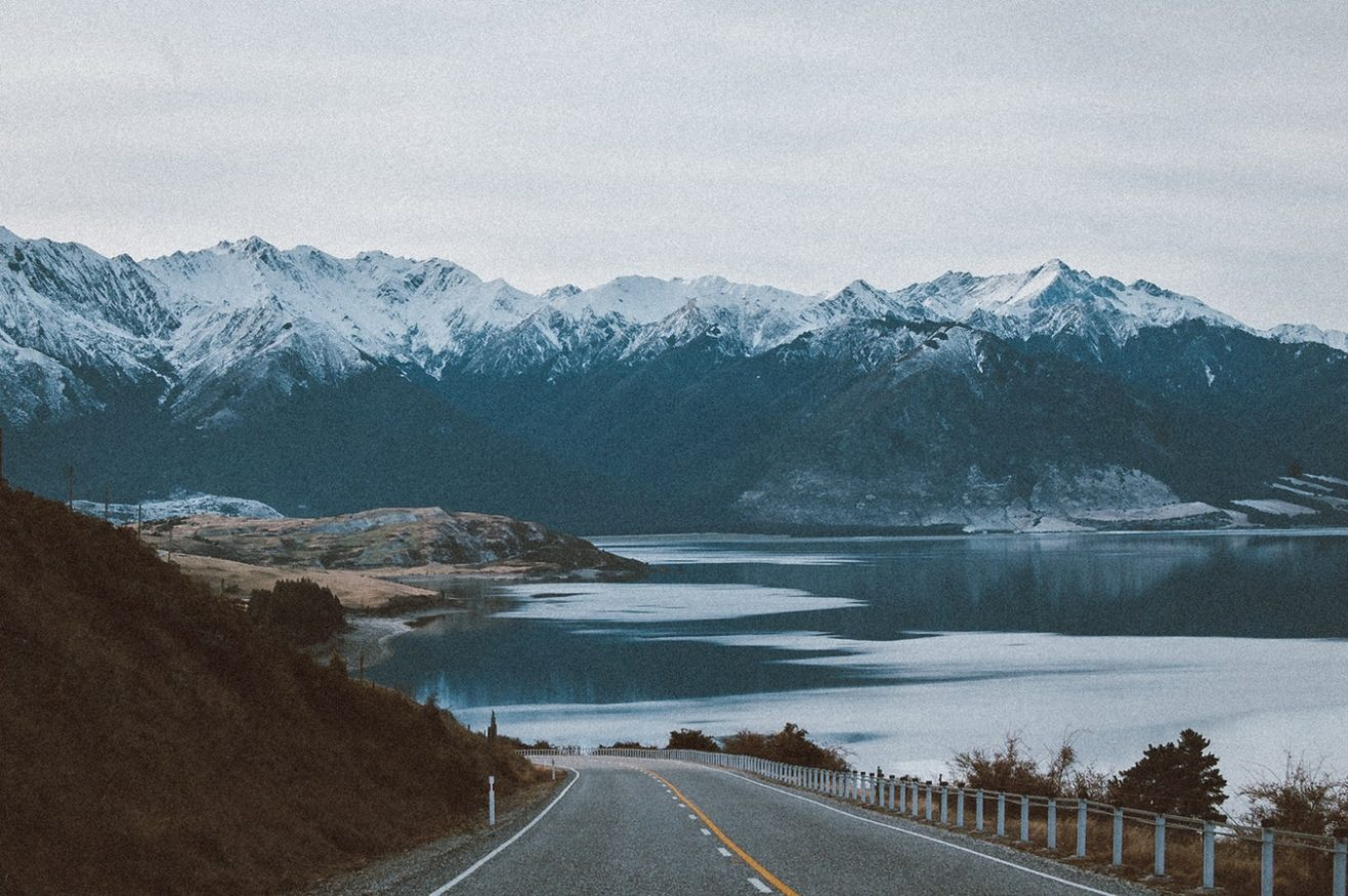paesaggi di montagna - nuova zelanda