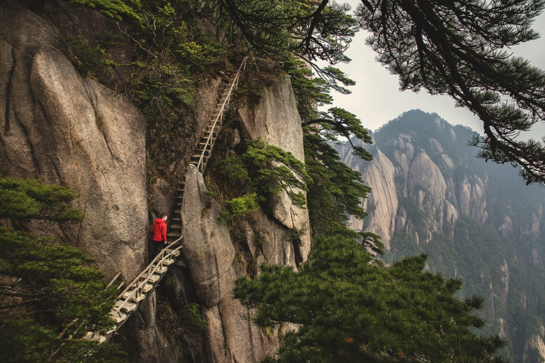 paesaggi di montagna - Mount Huangshan (Yellow Mountain), Cina
