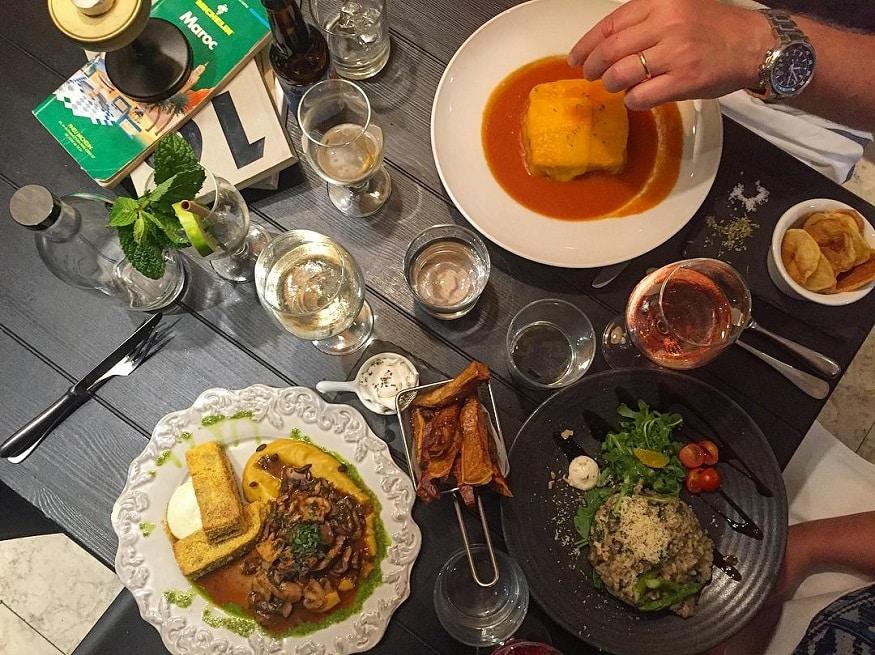 vegan backpacking food - dinner