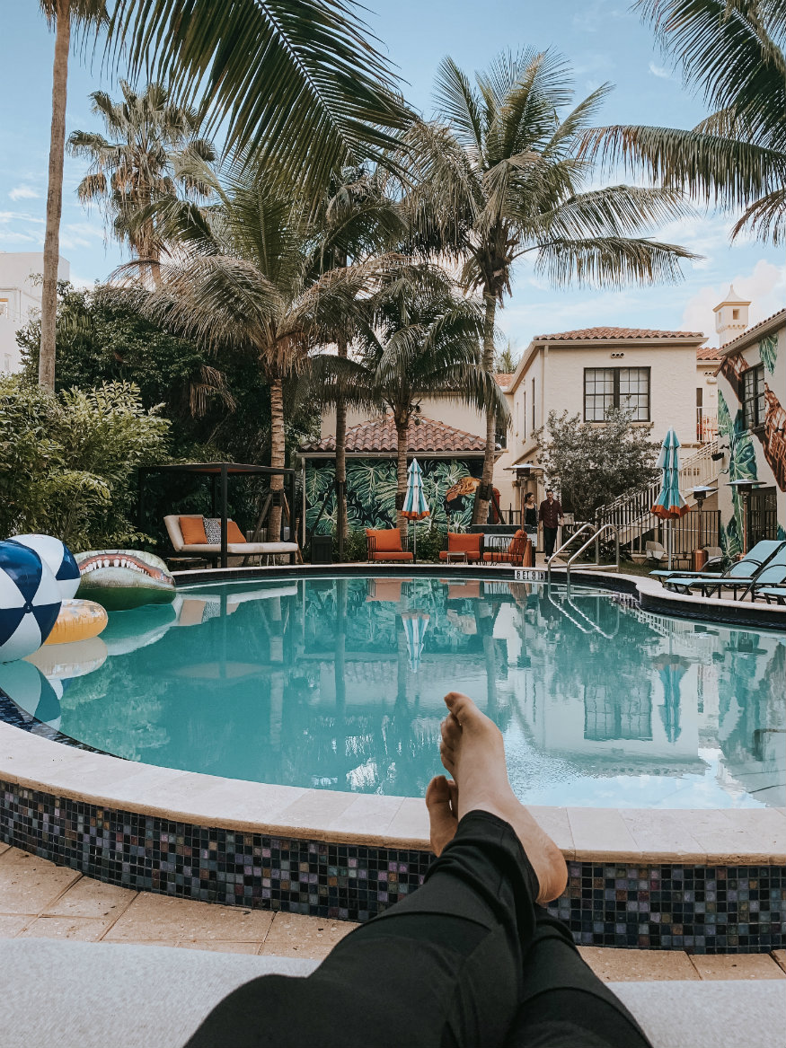 free things to do in Miami - generator Miami - pool