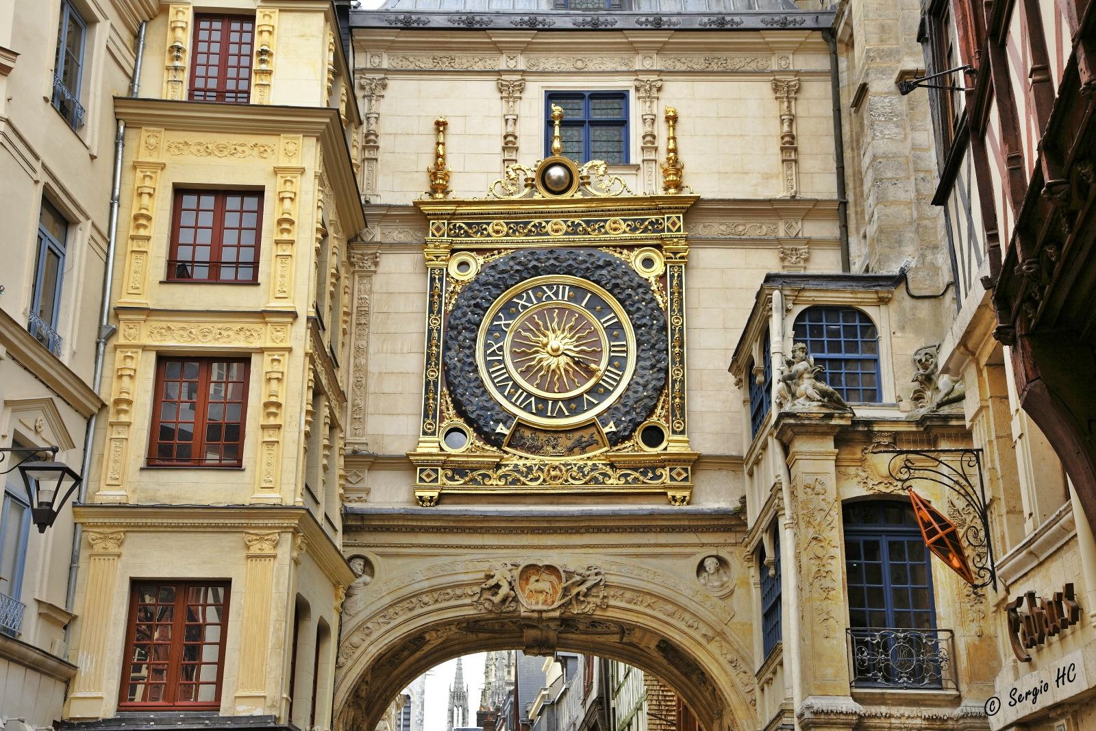 Normandia cosa vedere - Rouen Gros-Horloge @Sergio Herreria via flickr