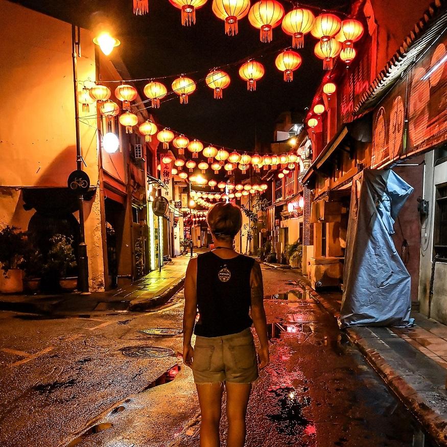 backpacking Malaysia - Chinatown - Chinese lanterns