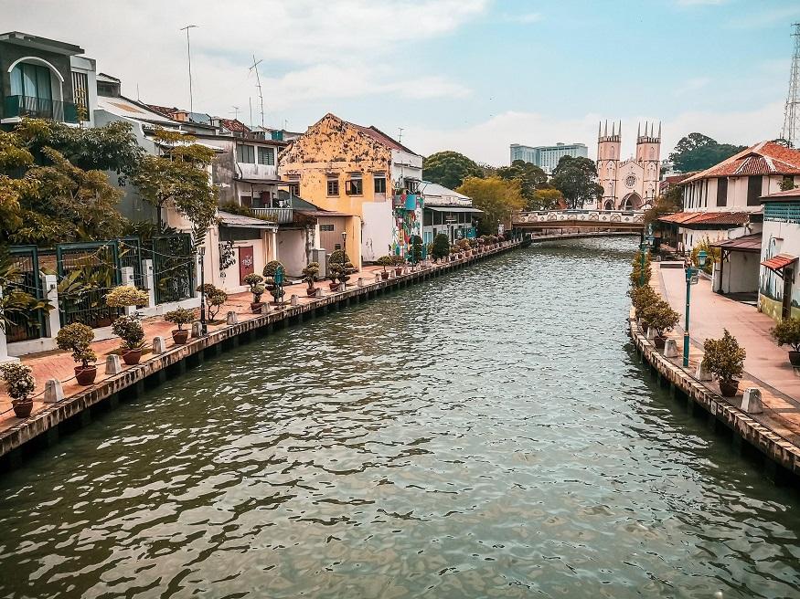 backpacking Malaysia - Malacca - River