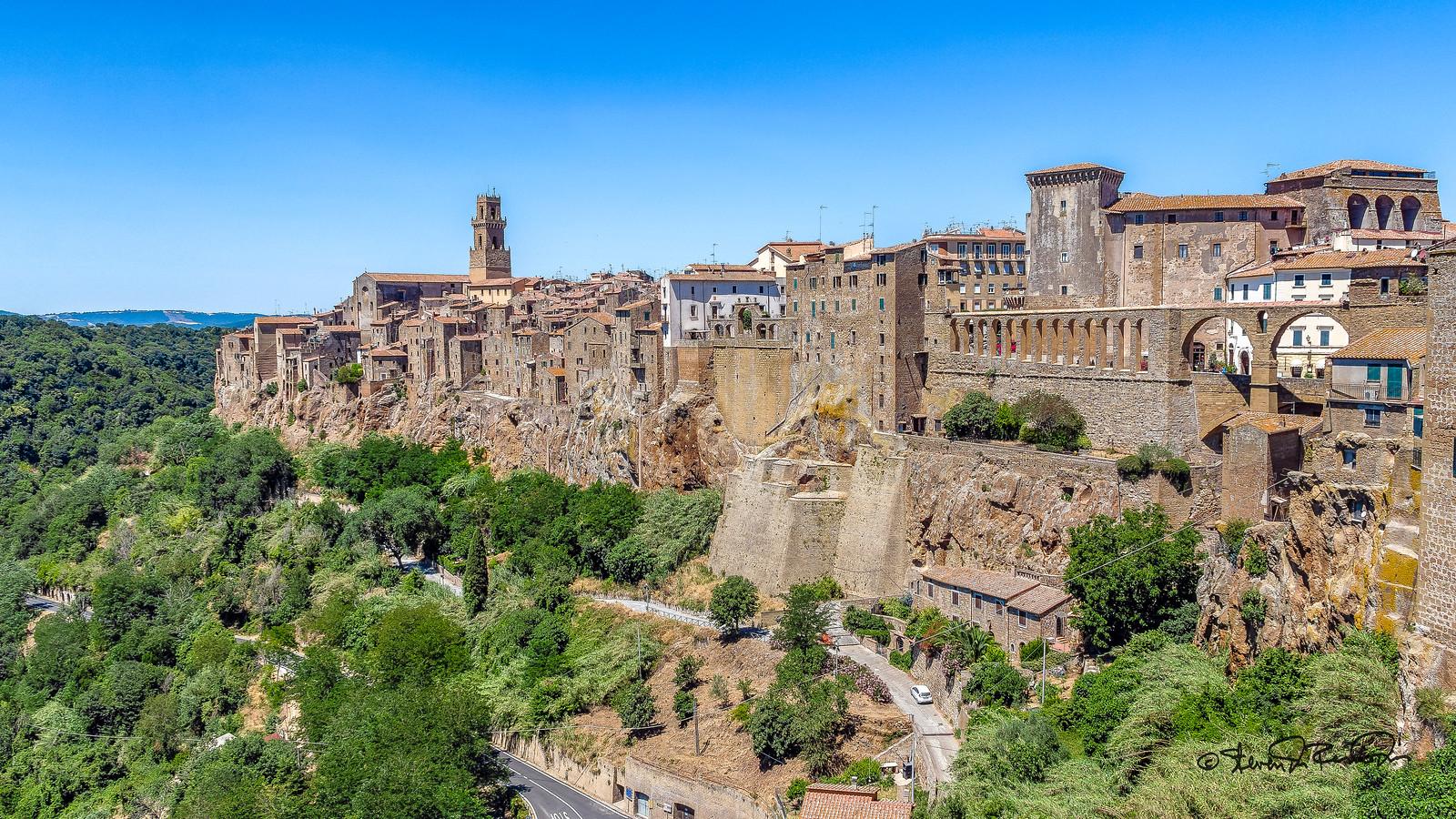 visiter la Toscane - Pitigliano