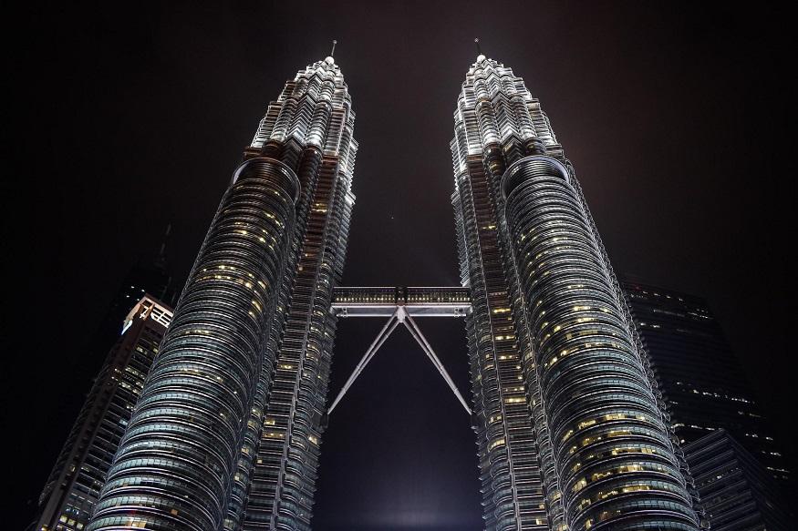 backpacking Malaysia - Kuala Lumpur - Petronas Towers