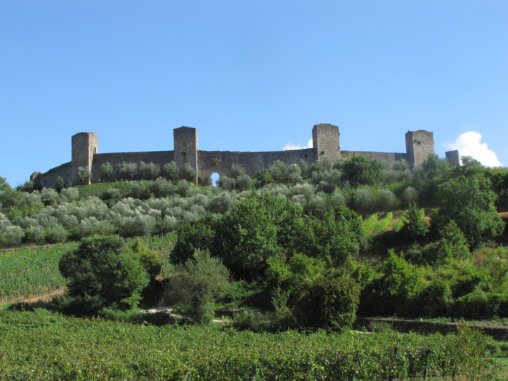 visiter la Toscane - Monteriggioni