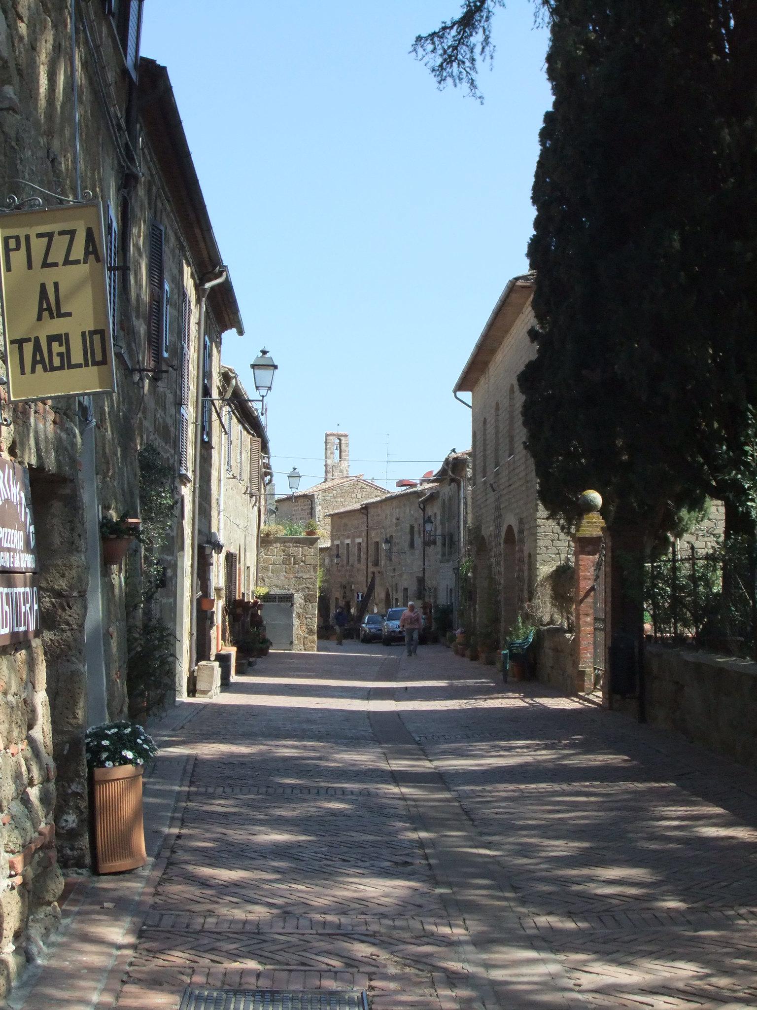 visiter la Toscane - Sorano