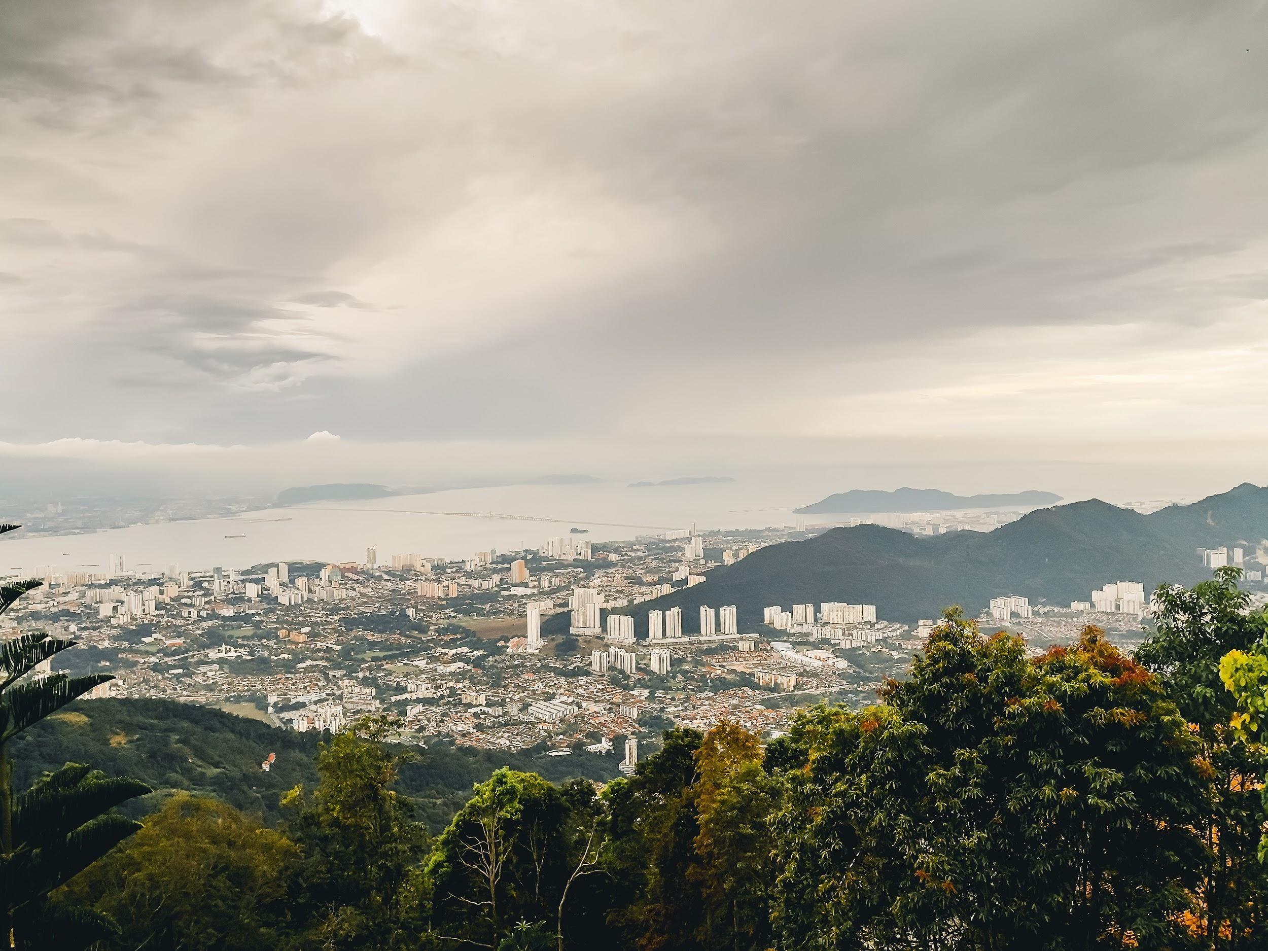 backpacking malaysia - penang hill