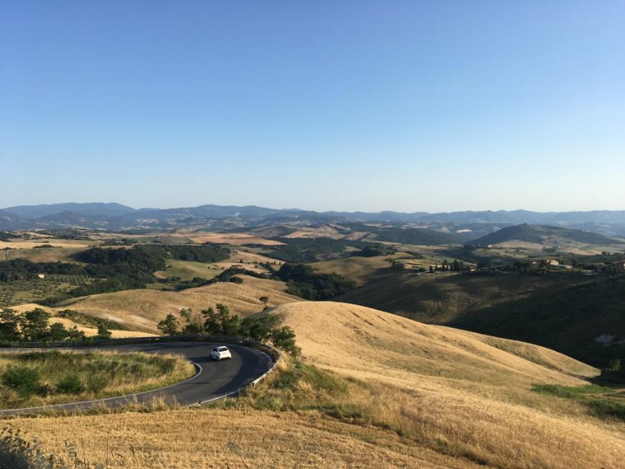 visiter la Toscane - Volterra