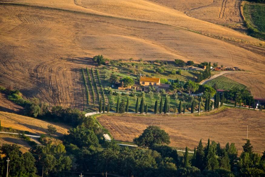 visiter la Toscane - Pienza