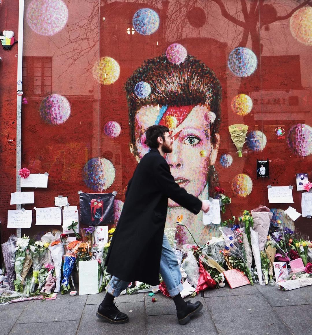où dormir a londres - David Bowie memorial