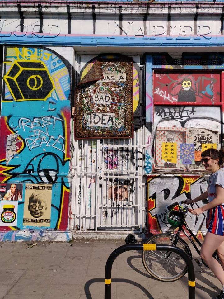 où dormir a londres - street art