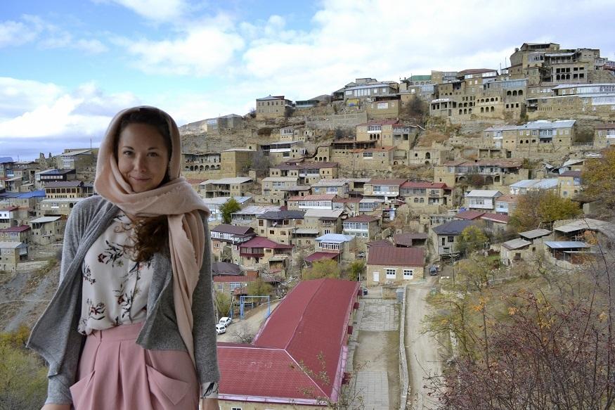 reasons why women travel solo - girl in headscarf