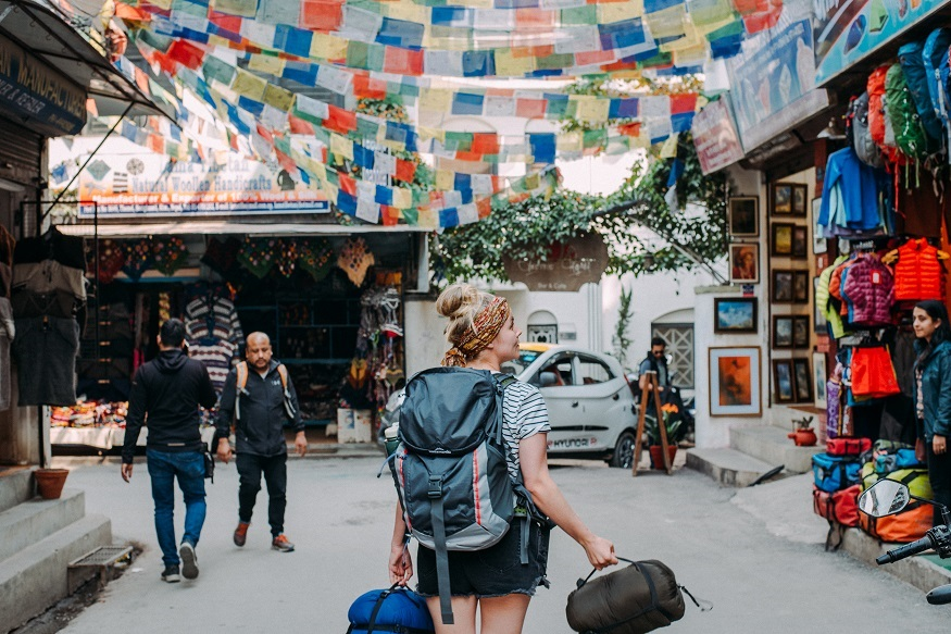reasons why women travel solo - girl with backpack