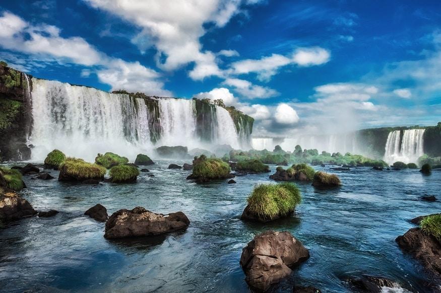 backpacking argentina - waterfalls