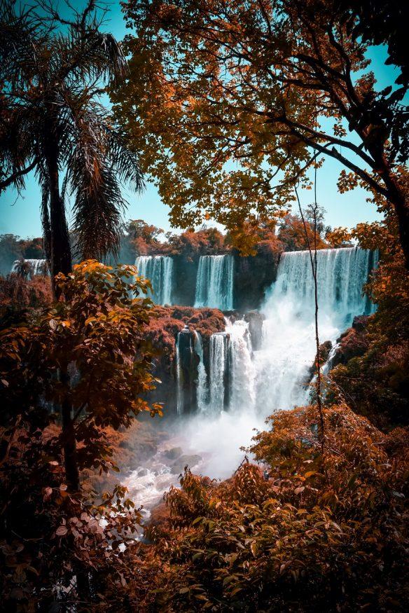 backpacking argentina -Iguazú Falls