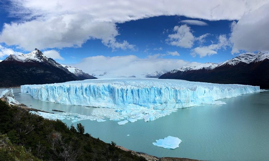 backpacking argentina -the perito moreno glacier