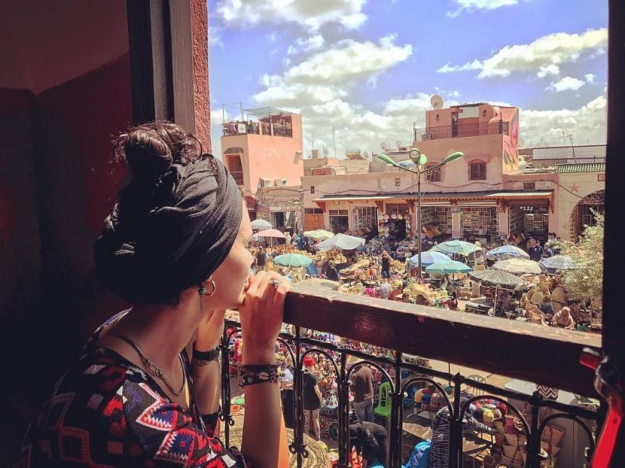 Marrakech cosa vedere - il mercato della piazza