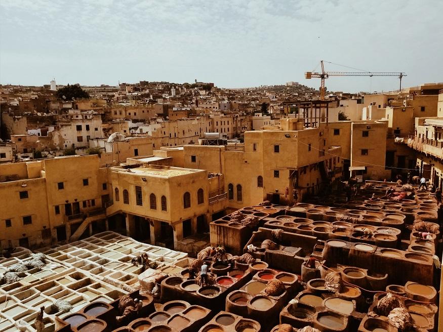 cosa fare a marrakech - Le concerie di Marrakech