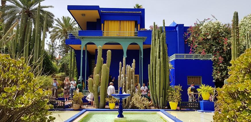 cosa fare a marrakech - Giardini Majorelle