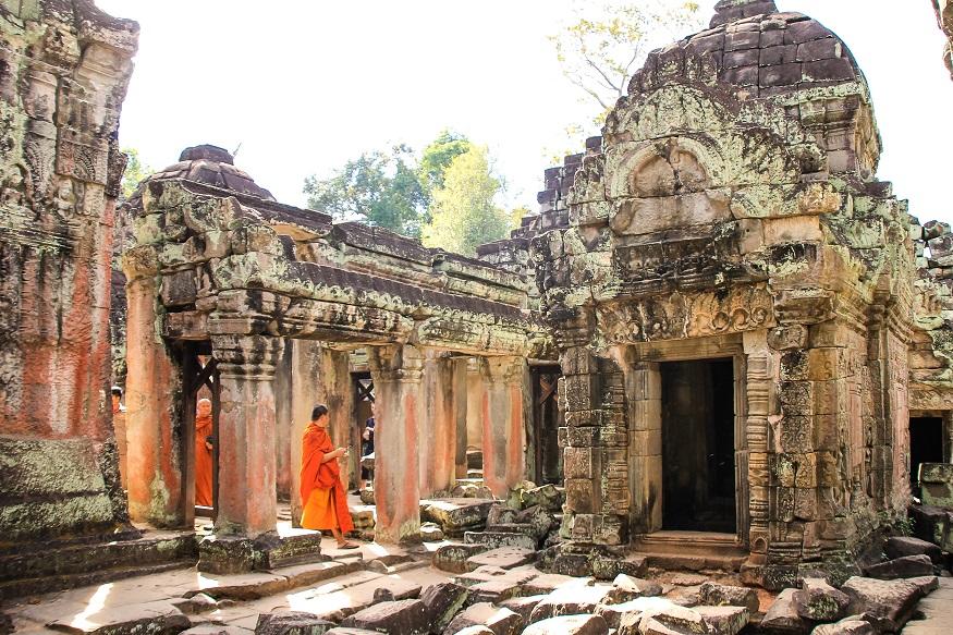 Siem Reap Sehenswürdigkeiten - angkor wat tempel