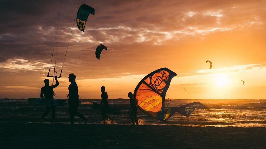 que faire en egypte - kitesurfing à El Gouna