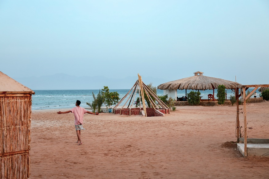 que faire en egypte - plage de Sinai