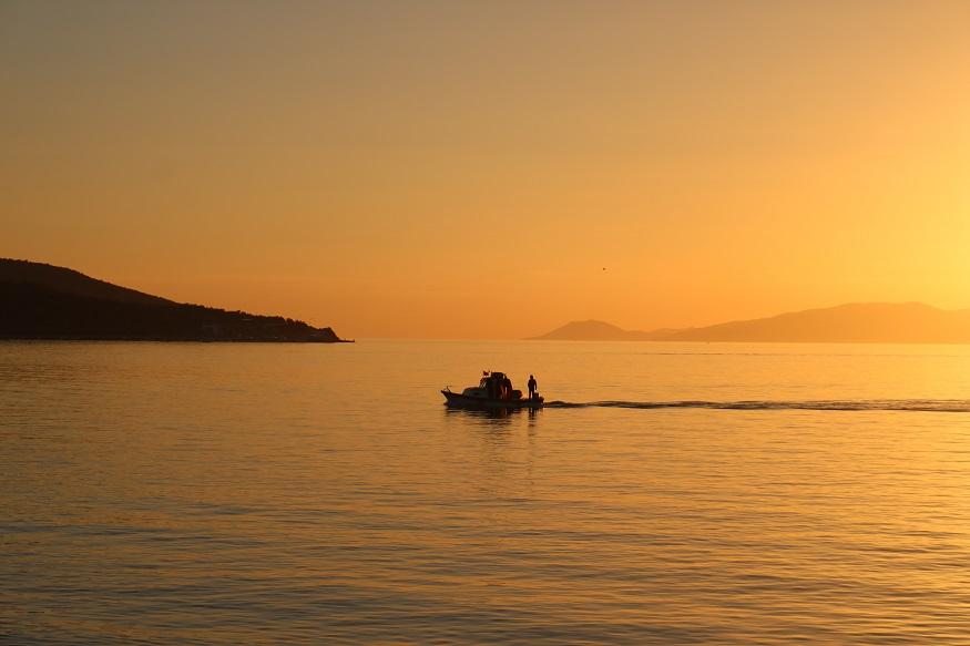 que faire en egypte - coucher de soleil sur la mer rouge